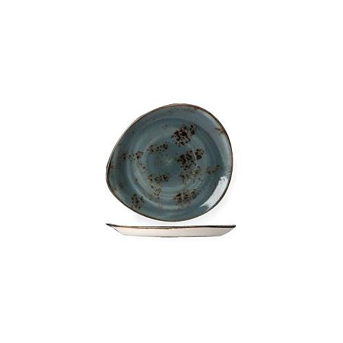 """[스틸라이트 크래프트] Plate 12""""접시(블루)"""