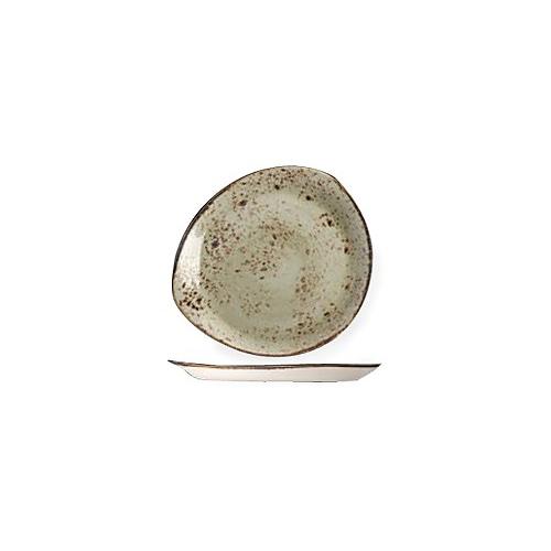"""[스틸라이트 크래프트] Plate 12""""접시(그린)"""