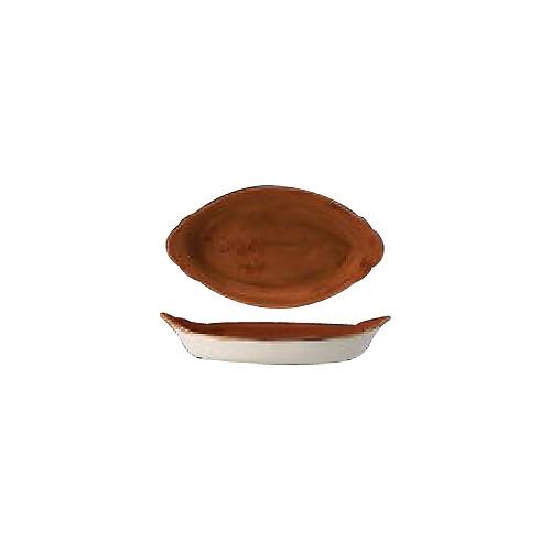"""[스틸라이트 크래프트] Oval Eared Dish 13""""오발(테라코타)"""