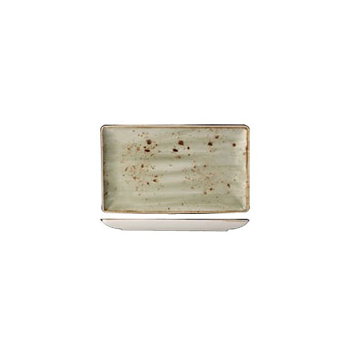 [스틸라이트 크래프트] Ractangle plate 직사각접시_27x17_(그린)