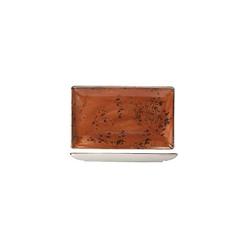 [스틸라이트 크래프트] Ractangle plate 직사각접시_33x27_(테라코타)