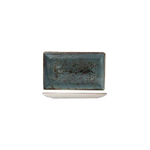 [스틸라이트 크래프트] Ractangle plate 직사각접시_37x17_(블루)