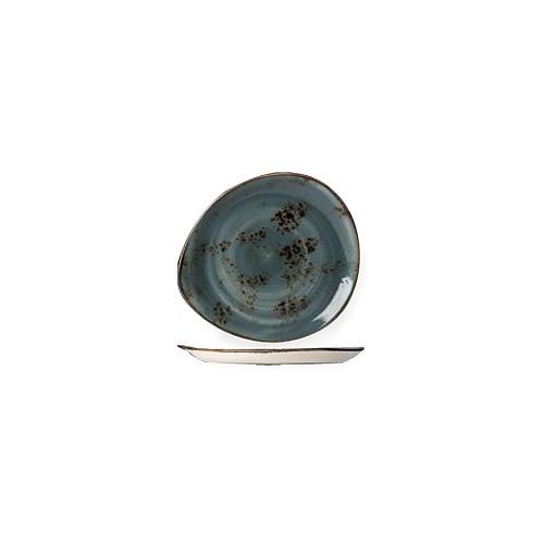 """[스틸라이트 크래프트] Plate 6""""접시(블루)"""