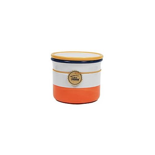 topchoice 탑초이스 칼라밀폐용기(소)_Papaya Orange
