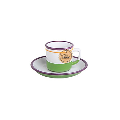 topchoice 탑초이스 에스프레소 컵&받침_Plum Purple