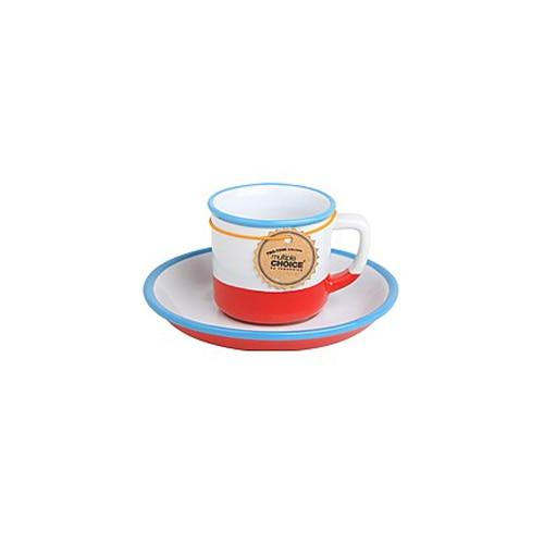 topchoice 탑초이스 에스프레소 컵&받침_Red Sea