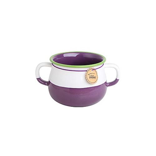 topchoice 탑초이스 항아리 스프컵 1p_Plum Purple